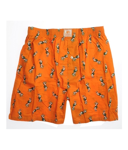 Aeropostale Mens Hawaii Dancer Underwear Boxers orange XL