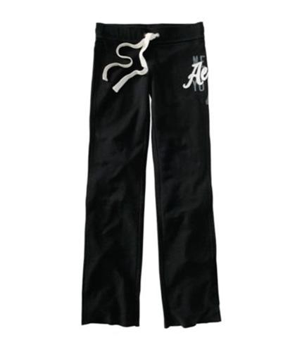 Aeropostale Womens New York Lounge Casual Sweatpants black M/32