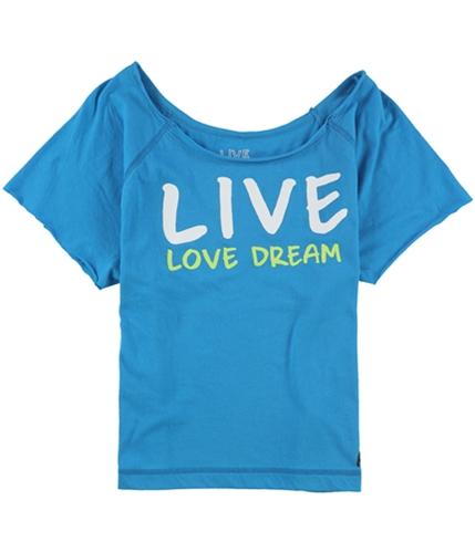 Aeropostale Womens Live Love Dream Pajama Sleep T-shirt 555 XS