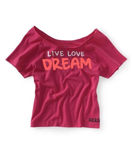 Aeropostale Womens Raglan Yoga Pajama Sleep T-shirt 667 XS