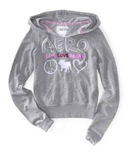 Aeropostale Womens Live Love Dream Hoodie Sweatshirt 052 XS
