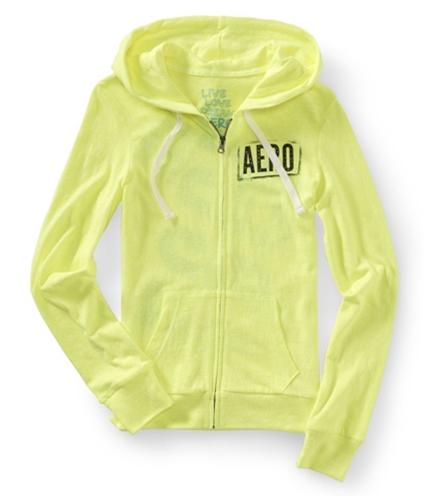 Aeropostale Womens Sequined Hooded Sleep Sweatshirt 724 XL