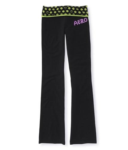 Aeropostale Womens Full Length Yoga Pants limene XS/32