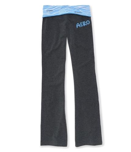 Aeropostale Womens Stretch Yoga Pants dkblue XS/32