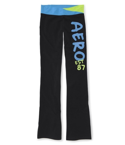 Aeropostale Womens Aero Est 87 Yoga Yoga Pants blue XL/32
