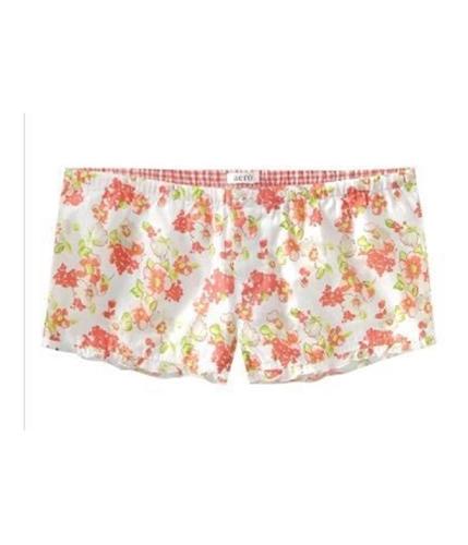 Aeropostale Womens Aero Lounge Pajama Shorts oranges XXS