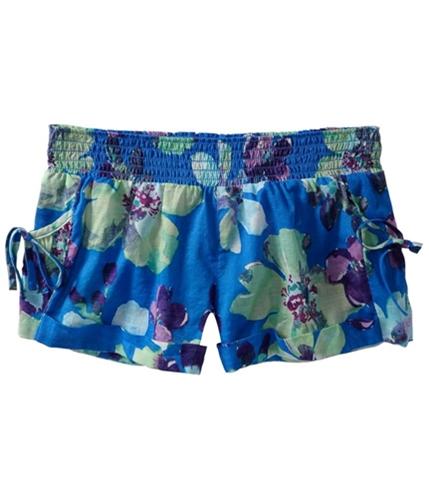 Aeropostale Womens Cuffed Floral Sleep Pajama Shorts morning XS