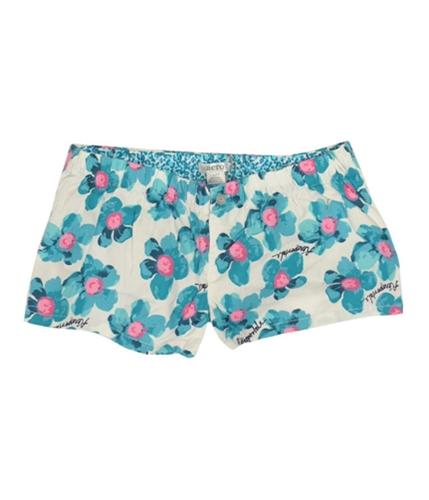 Aeropostale Womens Florals Pajama Shorts floralblue XXS