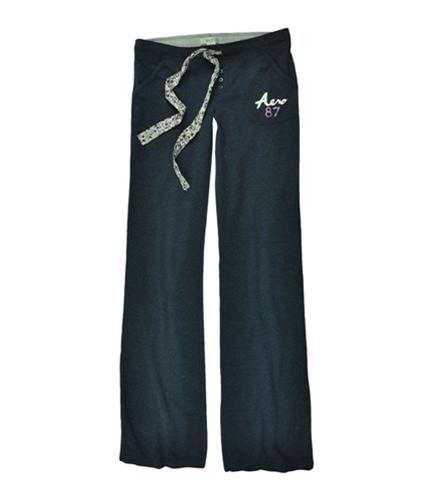 Aeropostale Womens Aero 87 Lounge Casual Sweatpants navyblue XS/32