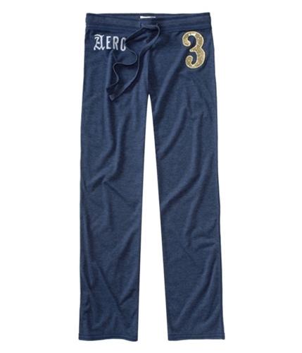 Aeropostale Womens Full Length #3 Pajama Lounge Pants navyniblue XXS/32