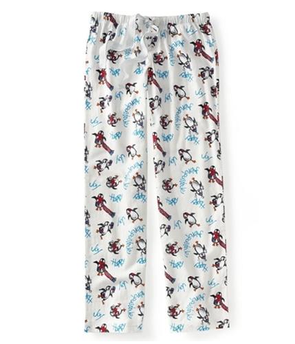 Aeropostale Womens Penguin Flannel Pajama Lounge Pants floral M/32