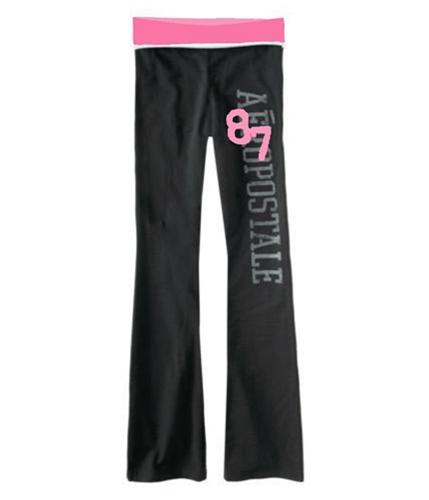 Aeropostale Womens Stretch Yoga Pants petunia XS/32