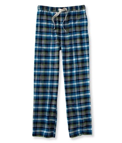 Aeropostale Mens Plaid Flannel Pajama Lounge Pants navyni M/32