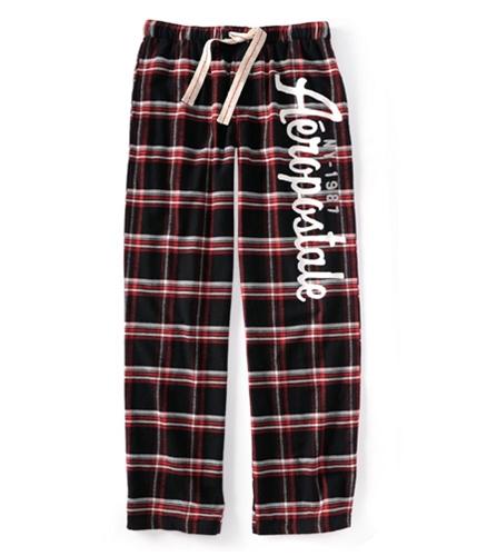 Aeropostale Mens Ny Plaid Flannel Bottoms Pajama Lounge Pants black XL/32