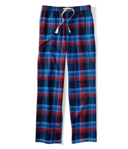 Aeropostale Mens Plaid Flannel Pajama Lounge Pants navyni XS/32