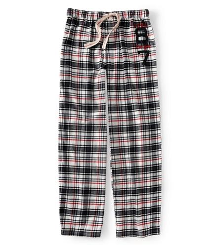 Aeropostale Mens Aero 8 New York 7 Flannel Pajama Lounge Pants opal XS/32