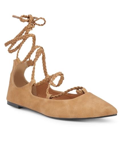 Aeropostale Womens Braided Ballet Flats