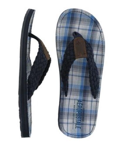 Aeropostale Mens Filp Flip Flop Sandals deepnablue S