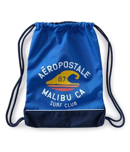 Aeropostale Womens Malibu Surf Drawstring S Tote Handbag Purse 793