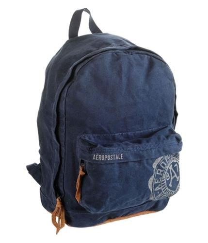 Aeropostale Womens Crest Backpack Tote Handbag Purse deepnavyblue