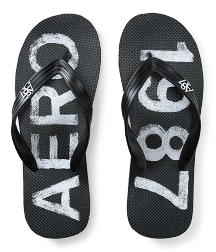 Aeropostale Mens Thong Flip Flop Sandals 001 S