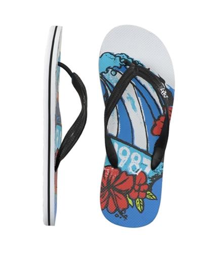 Aeropostale Mens S Flip Flop Sandals black M