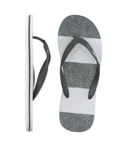 Aeropostale Mens S Flip Flop Sandals eclipsegray XL