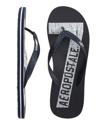 Aeropostale Mens S Thongs Flip Flop Sandals deepnablue M
