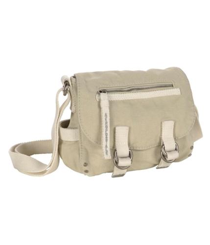 Aeropostale Womens Snap Zipper Satchel Tote Handbag Purse softsand