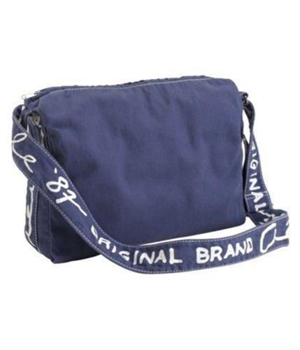 Aeropostale Womens Book Casual Shoulder Handbag Purse steelblue