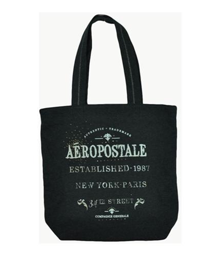 Aeropostale Womens Embellished Shoulder Handbag Purse charcoalgray