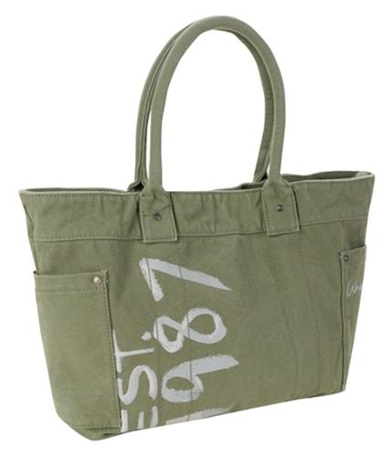 Aeropostale Womens Est. 1987 Tote Handbag Purse herbgreen