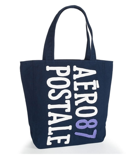 Aeropostale Womens Puff Paint Tote Handbag Purse 413