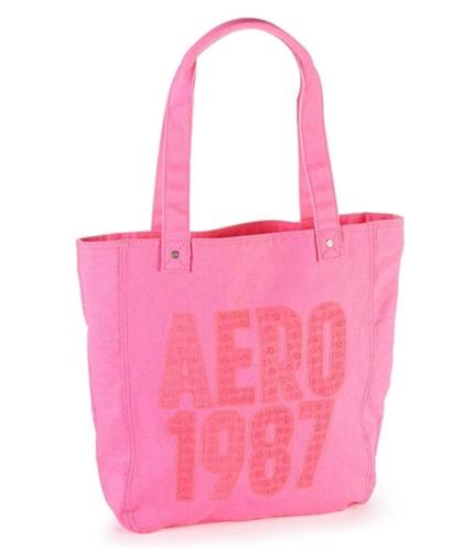 Aeropostale Womens Beach Shoulder Tote Handbag Purse 644