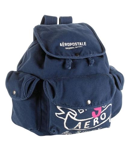 Aeropostale Womens Original Brand Tote Handbag Purse navyniblue