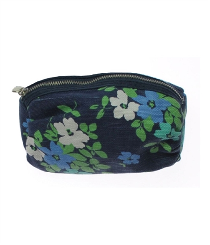 Aeropostale Womens Floral Make-up Clutch Makeup Bag navy