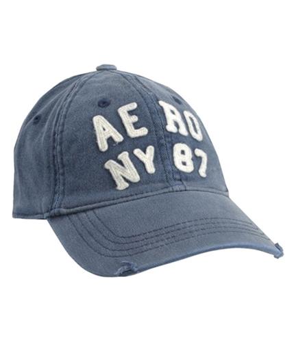 Aeropostale Mens Distressed Baseball Cap deepnablue XL