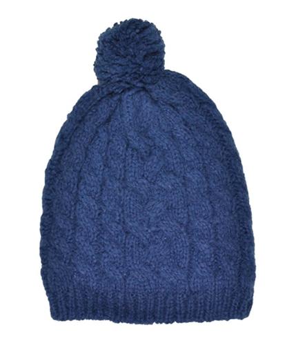 Aeropostale Mens Cable Knit Pom Pom Beanie Hat navyni One Size