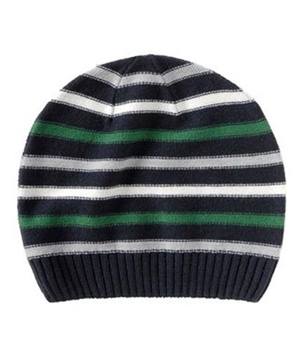 Aeropostale Mens Multi Stripe Beanie Hat deepna One Size