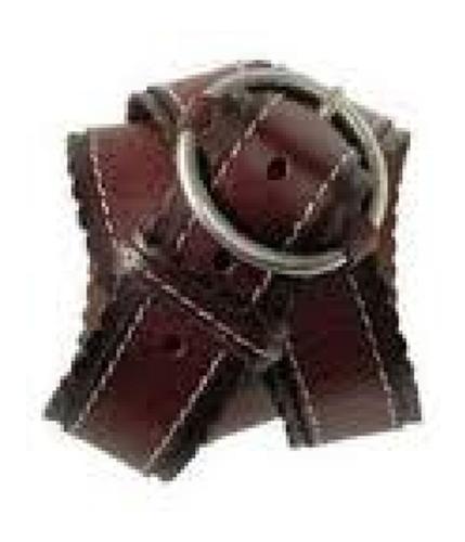 Aeropostale Womens Leather Belt brownred S
