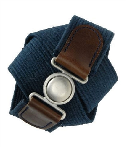 Aeropostale Mens Knit Woven Belt navynightblue S/M