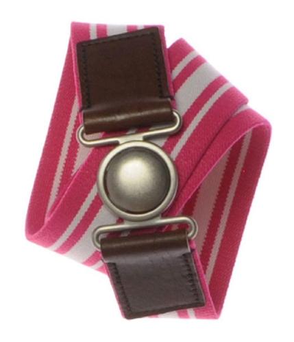 Aeropostale Womens Stripe Stretchy Belt petunia S/M