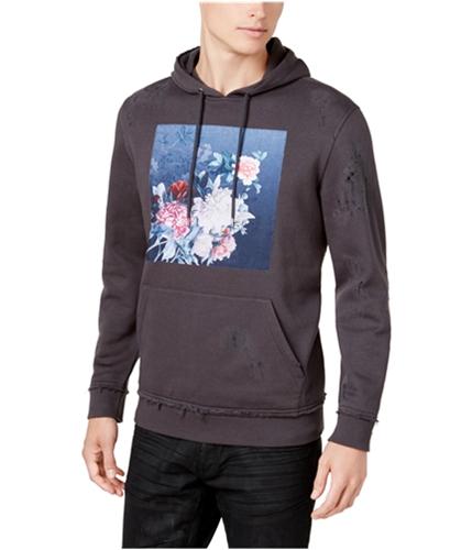 I-N-C Mens Floral Hoodie Sweatshirt