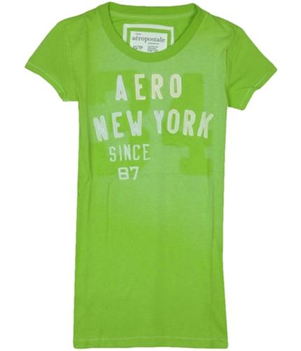Aeropostale Womens Aeroince 87 Graphic T-Shirt navyblue XS
