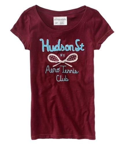 Aeropostale Womens Ny Athletic Graphic T-Shirt auburnburgundy XS
