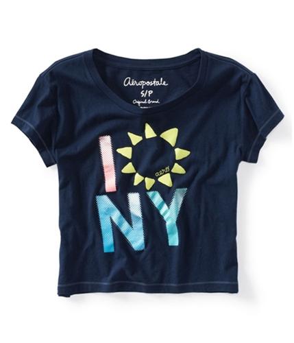 Aeropostale Womens Sunflower Graphic T-Shirt 404 M