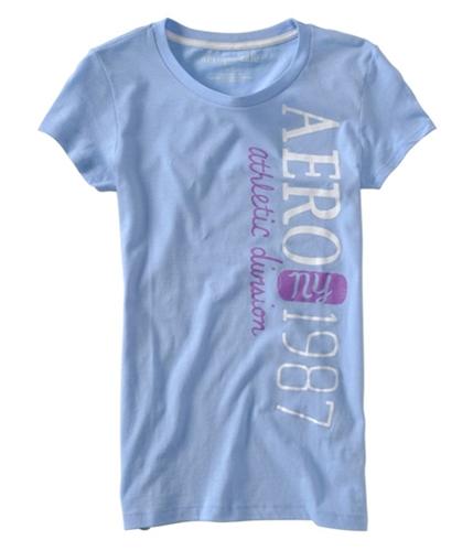 Aeropostale Womens Aero Athletic Division #87 Graphic T-Shirt crystal XS