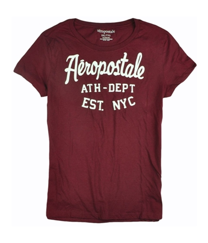 Aeropostale Womens Athletic Dept Est Nyc Graphic T-Shirt auburnburgundy 2XL