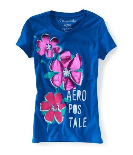 Aeropostale Womens Bulldog Graphic T-Shirt active L