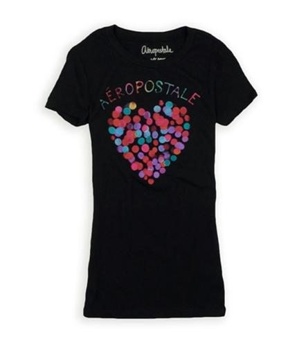 Aeropostale Womens Aero Heart Graphic T-Shirt 001 XS